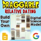Relative Dating - Digital Draggable Science Model