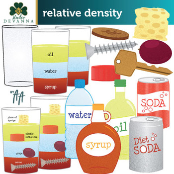 Relative Density Clip Art