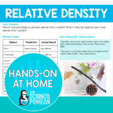Relative Density {Hands-on at Home} | Distance Learning