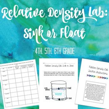 Relative Density Lab