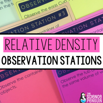 Relative Density Observation Stations