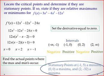 Relative Extrema (PP)