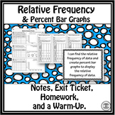 Relative Frequency and Percent Bar Graphs Notes