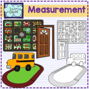 Relative Measurement Tools and examples Clip Art