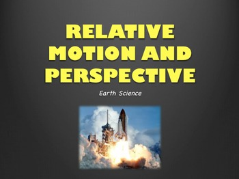 Relative Motion and Perspective Power Point