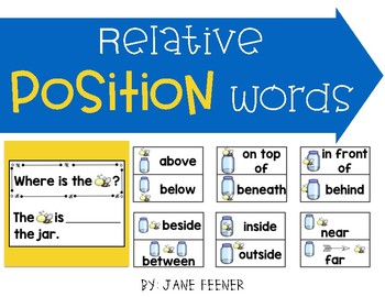 Relative Position Words