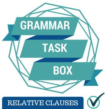 Relative Pronoun Task Box