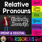 Relative Pronouns Activity Bundle