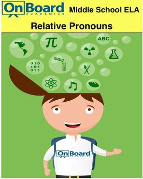 Relative Pronouns-Interactive Lesson