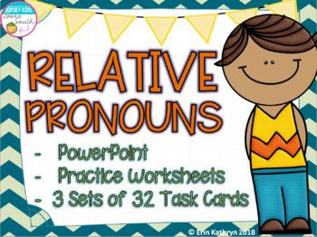 Relative Pronouns Mega Bundle
