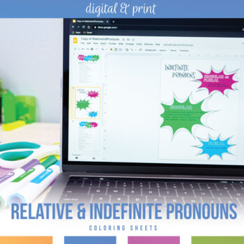 Relative Pronouns: Note-Taking Sheet and Practice Sentences