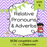 Relative Pronouns & Adverbs Game/Sort Pack (INC. DIGITAL VERSION)