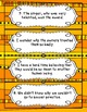 Relative Pronouns and Adverbs Card Game