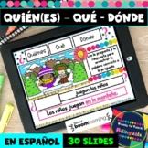 Relative Pronouns in Spanish - Quién (es), Qué, Dónde -  B