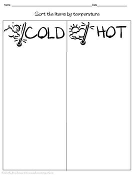 Relative Temperature Sort and Order