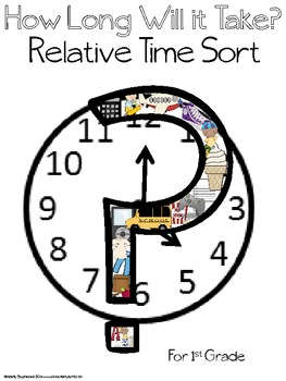 Math stations: Relative Time Sort - How Long Will it Take?