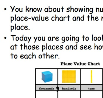 Relative Value and Place Value Relationships
