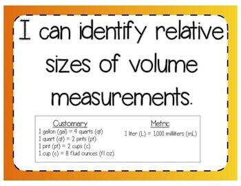 Relative Volume Measurements Interactive Notebook & Quick Check TEKS 4.8A