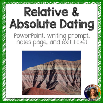 what is the difference between relative and absolute dating of rocks and fossils