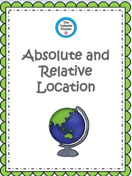 Relative and Absolute Location Activities