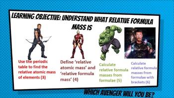 Relative formula mass