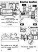 Relative location/ Ubicacion espacial book bilingual