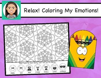 Relax: Coloring My Feelings