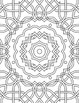 Relax! Coloring Pages: Kaleidoscope