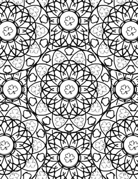Relax! Coloring Pages: St. Patrick's Day