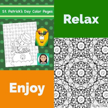 Coloring Pages: St. Patrick's Day