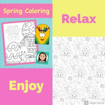 Coloring Pages:  Spring Time & Easter