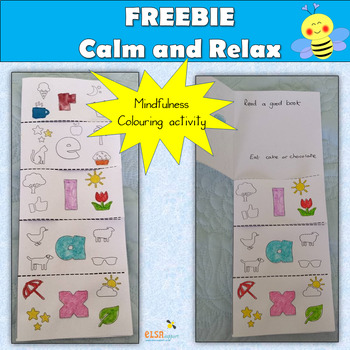 Relax and Calm mini book