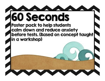 Relaxation Poster for 60 seconds