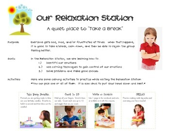 Relaxation Station & Emotion Cards