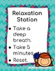 Relaxation Station Poster
