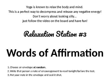 Relaxation Stations