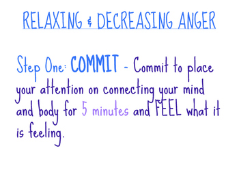 Relaxing & Decreasing Anger