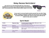 Relay For Life - Relay Recess Event