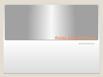 Relay Lesson Plans
