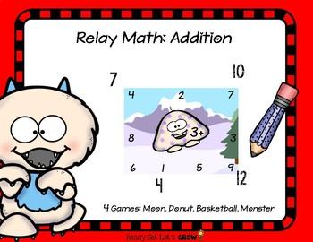 Relay Math: Addition