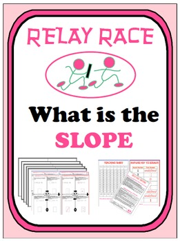 Relay Race - What is the SLOPE???