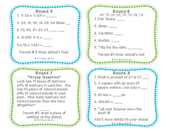 Relay Review Task Cards (VA SOL Aligned)