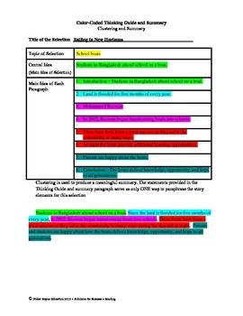 Released 2013 STAAR Analysis and Activities Bundle, Grade 6 Reading