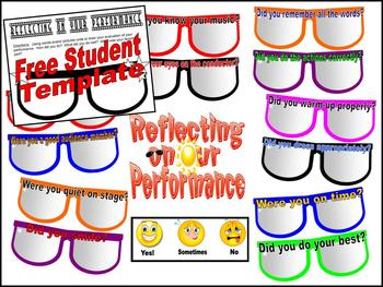 Reflecting on Our Performance Bulletin Board Kit and Student Response Sheet