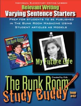 Relevant Elementary Writing: Varying Sentence Starters