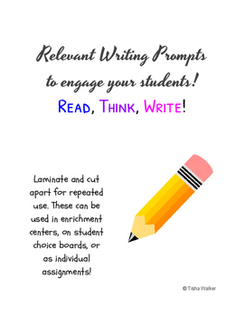 Relevant Writing Prompts