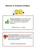 Relevant vs Irrelevant Evidence