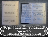 Relfectional and Rotational Symmetry Foldable