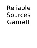 Reliable Resources Game