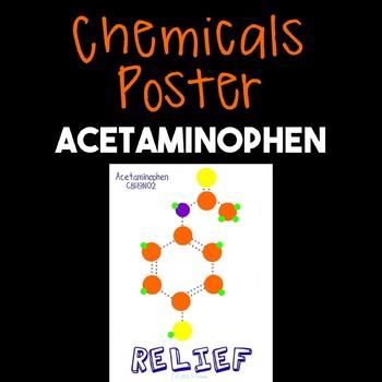 Chemicals Poster--Acetaminophen